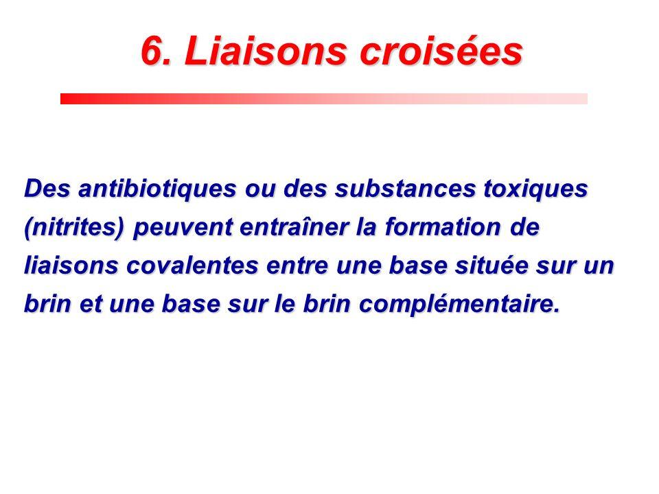 6. Liaisons croisées