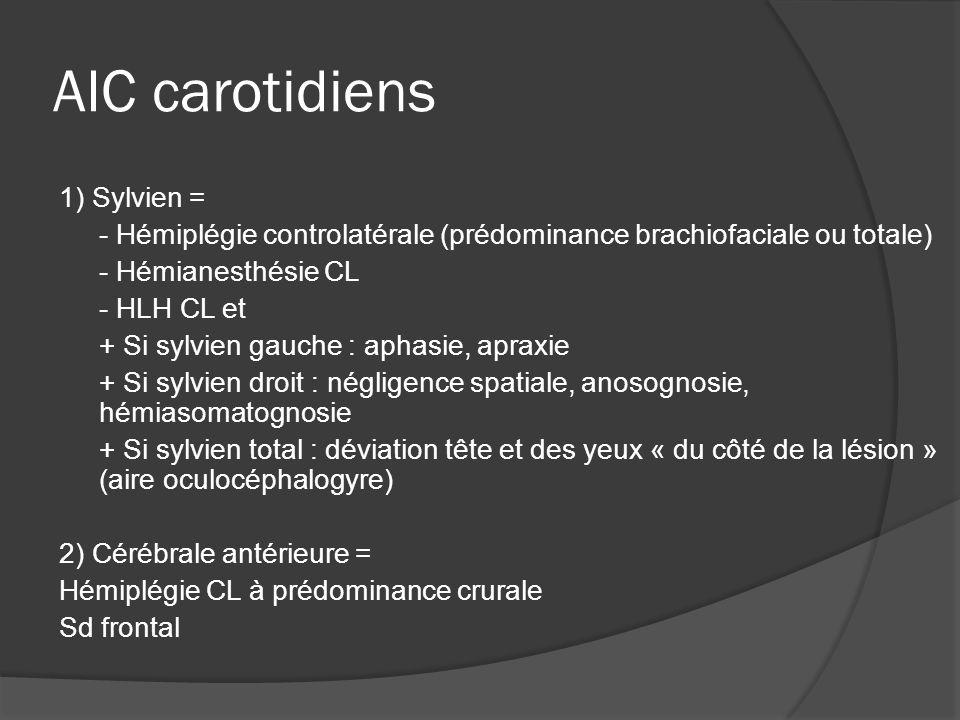 AIC carotidiens