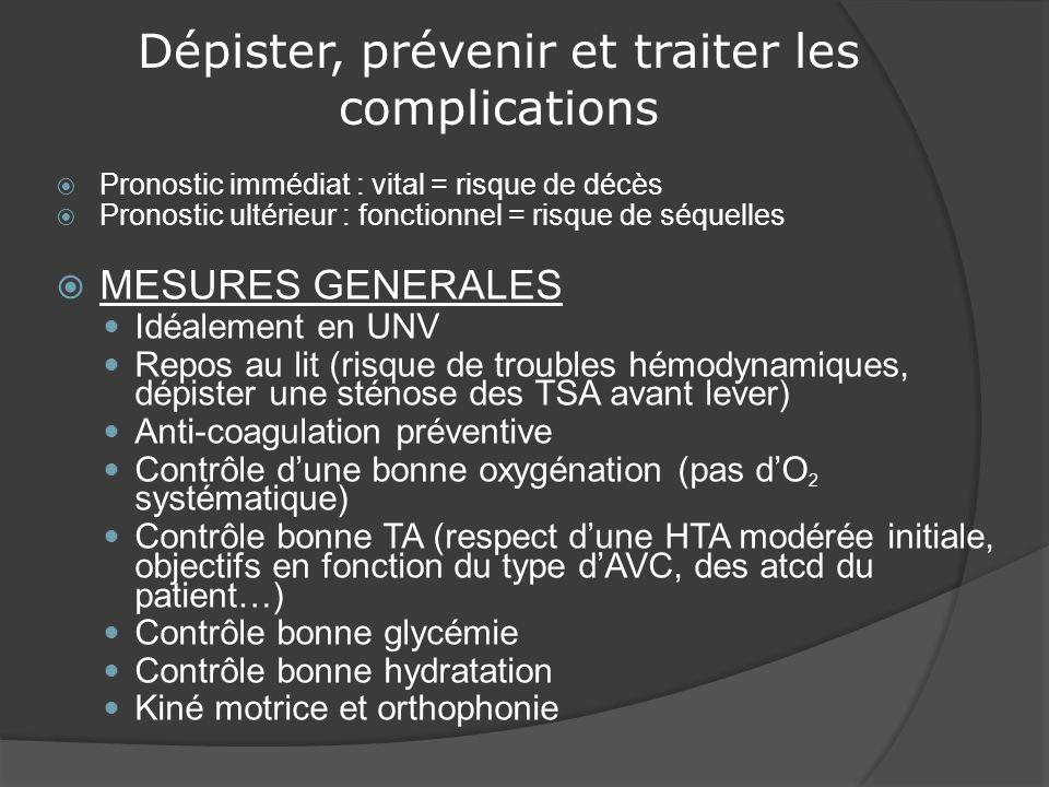 Dépister, prévenir et traiter les complications