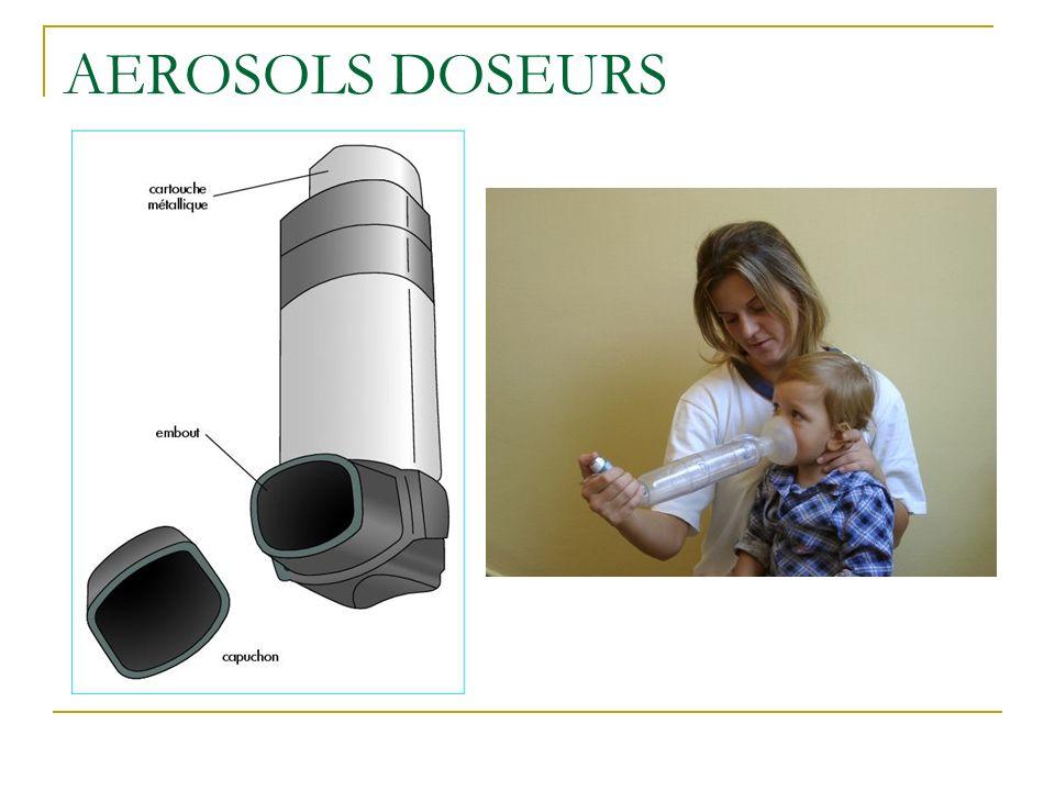 AEROSOLS DOSEURS