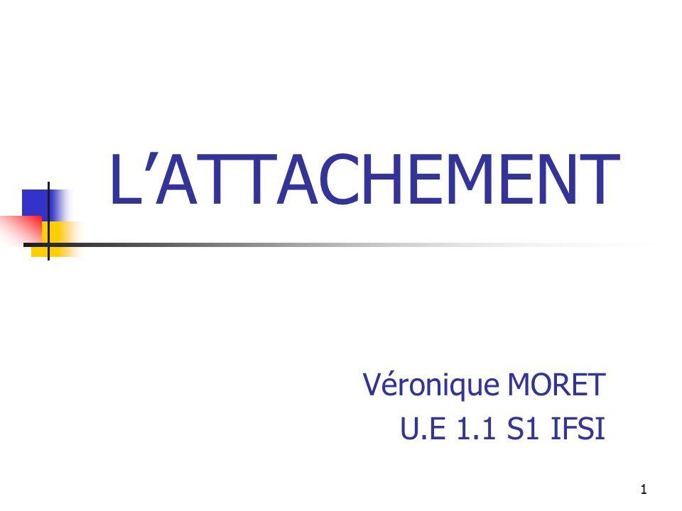 Véronique MORET U.E 1.1 S1 IFSI