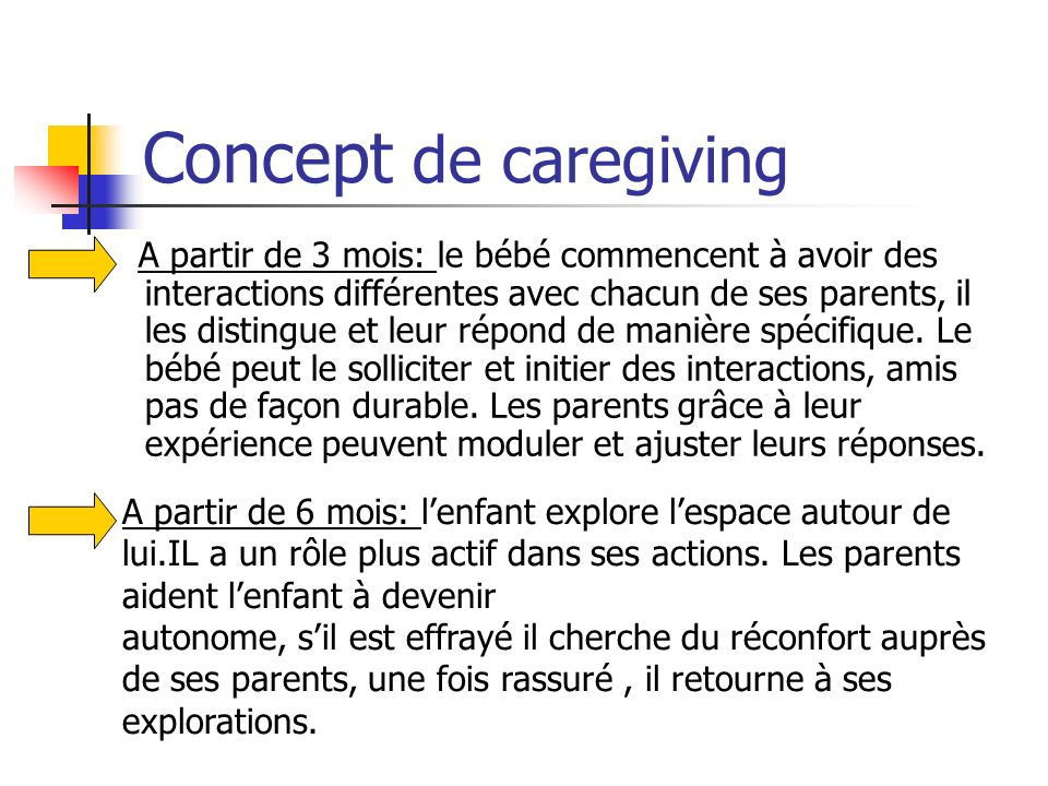 Concept de caregiving