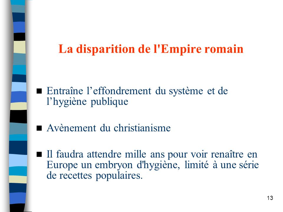 La disparition de l Empire romain
