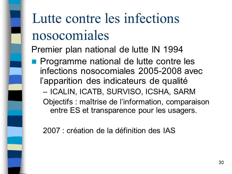 Lutte contre les infections nosocomiales