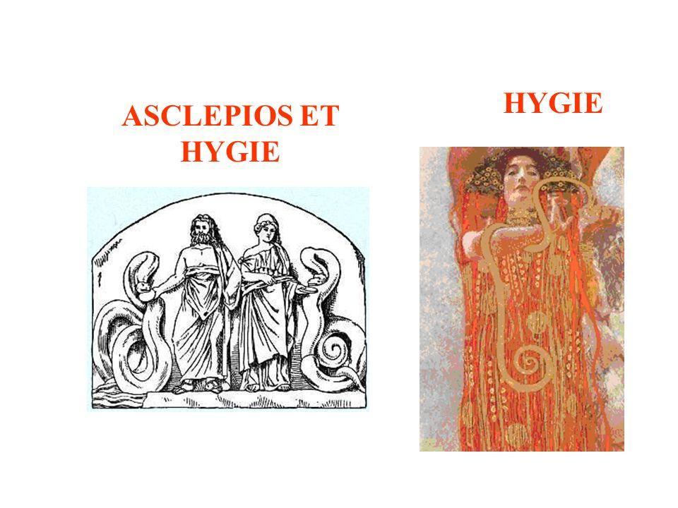HYGIE ASCLEPIOS ET HYGIE