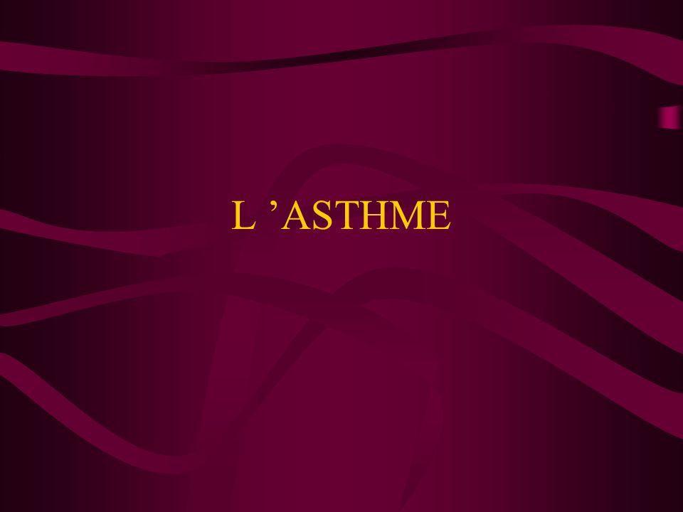 L 'ASTHME
