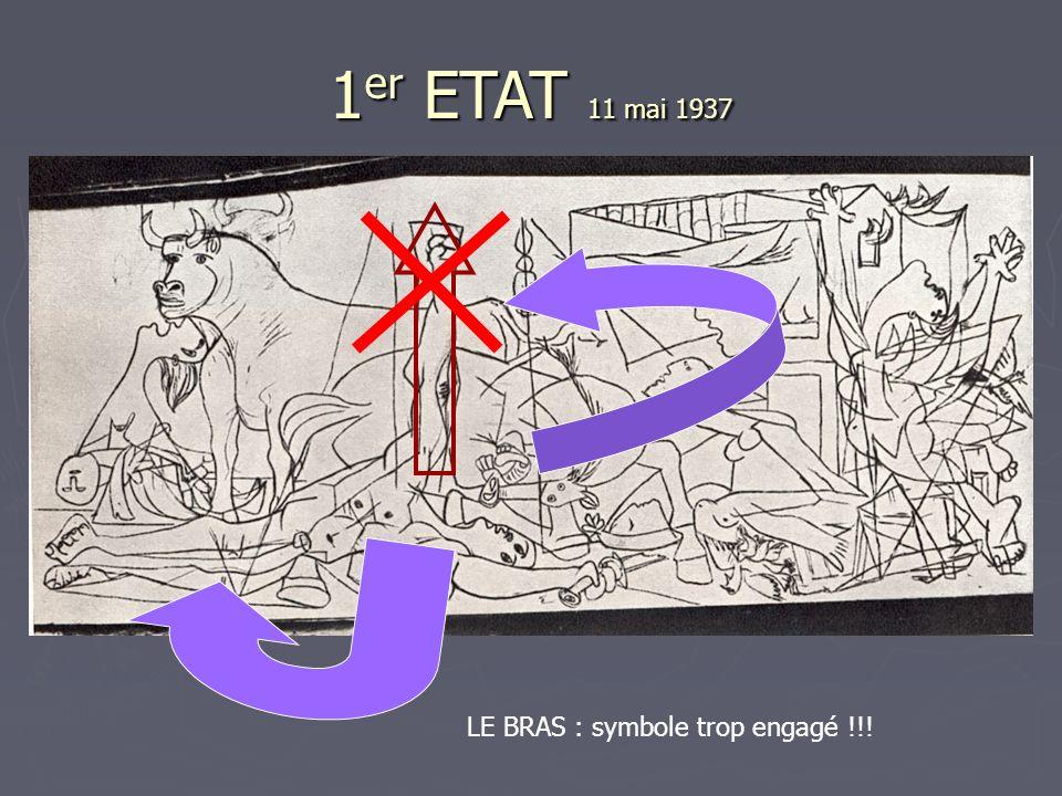 1er ETAT 11 mai 1937 LE BRAS : symbole trop engagé !!!