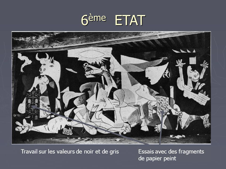 6ème ETAT Travail sur les valeurs de noir et de gris