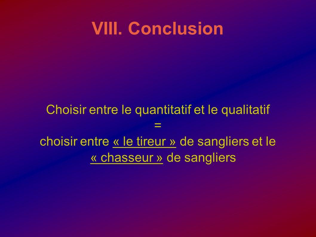 Choisir entre le quantitatif et le qualitatif