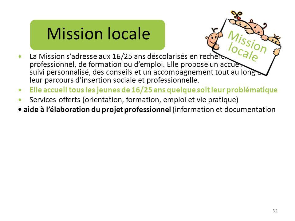 Mission locale Mission locale