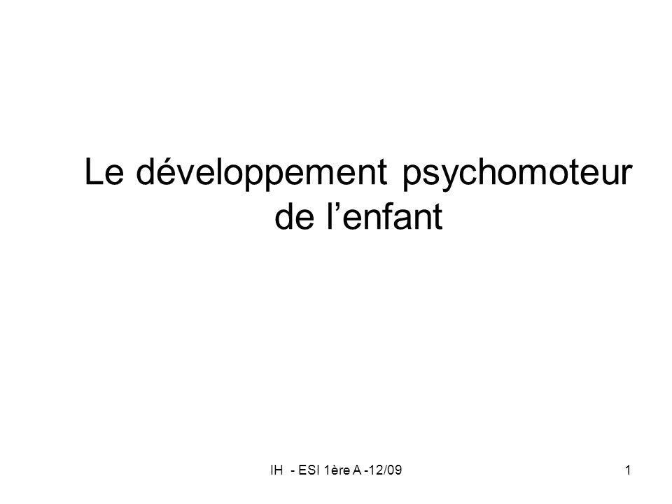 Le développement psychomoteur de l'enfant