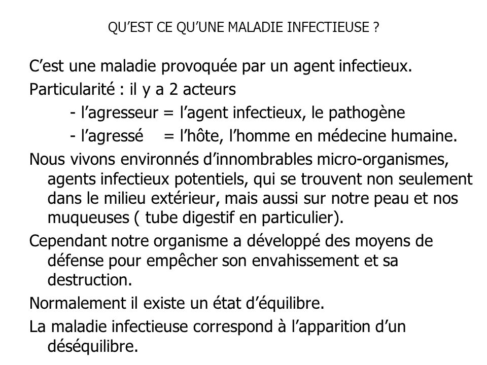 a propos des maladies infectieuses quelques generalites ppt t l charger. Black Bedroom Furniture Sets. Home Design Ideas