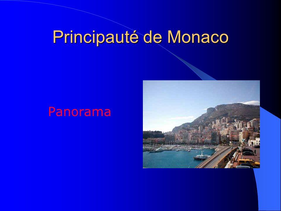 Principauté de Monaco Panorama