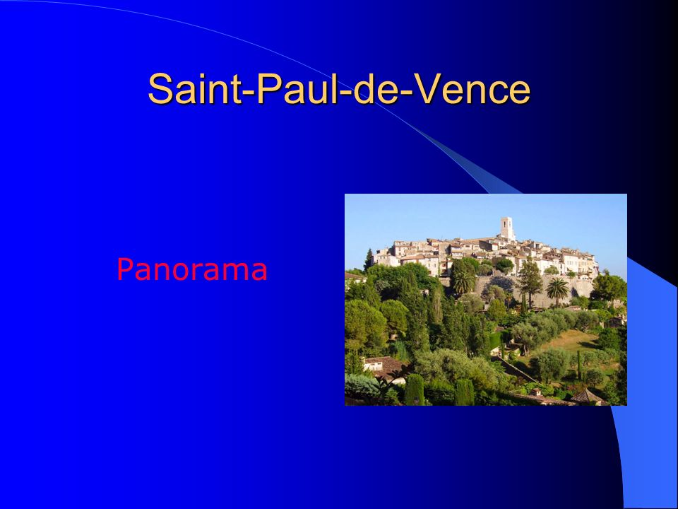 Saint-Paul-de-Vence Panorama