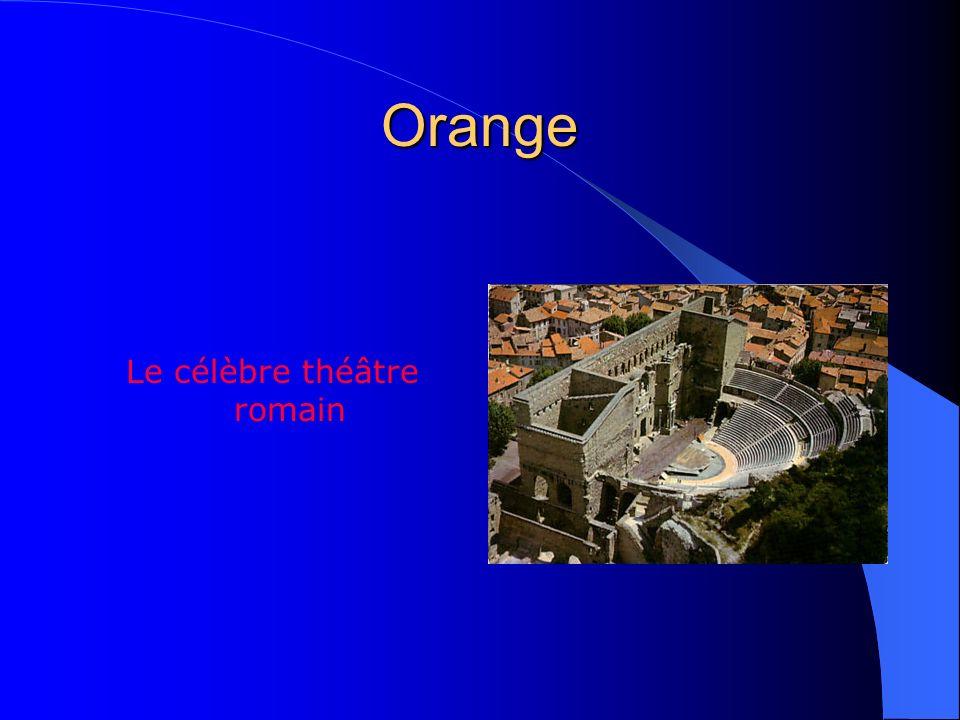 Le célèbre théâtre romain