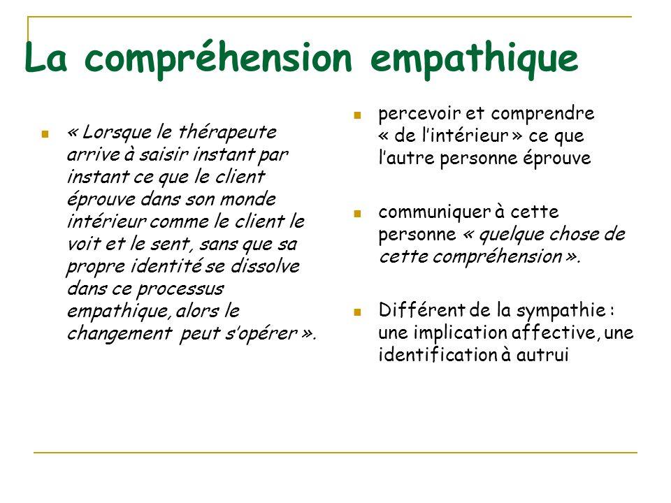 La compréhension empathique