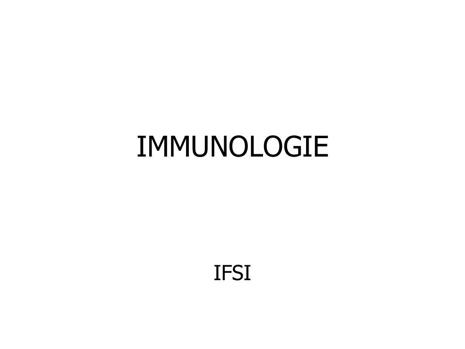 IMMUNOLOGIE IFSI