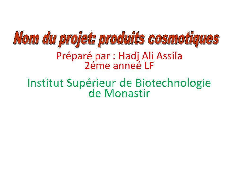 Institut Supérieur de Biotechnologie de Monastir