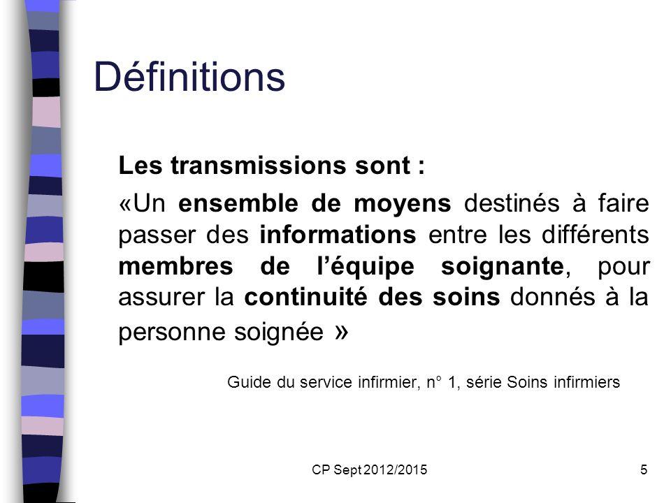 Définitions Guide du service infirmier, n° 1, série Soins infirmiers