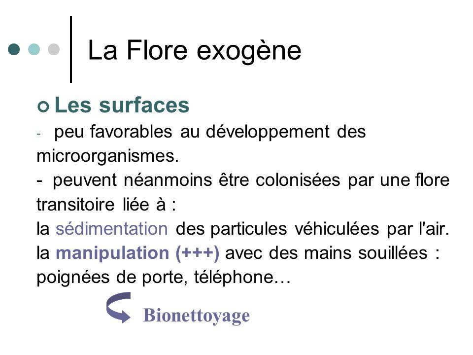 La Flore exogène Les surfaces Bionettoyage