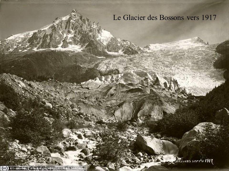 Le Glacier des Bossons vers 1917
