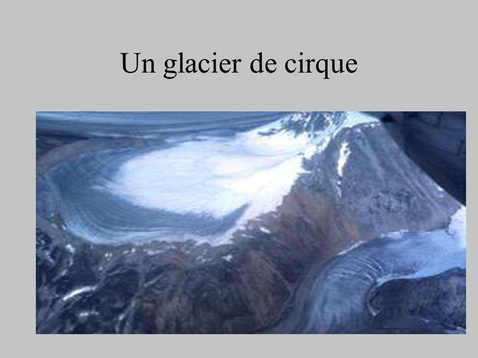 Un glacier de cirque