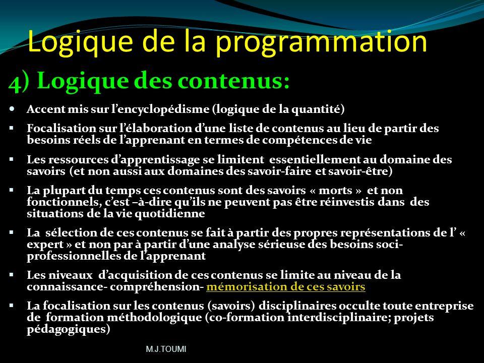 Logique de la programmation