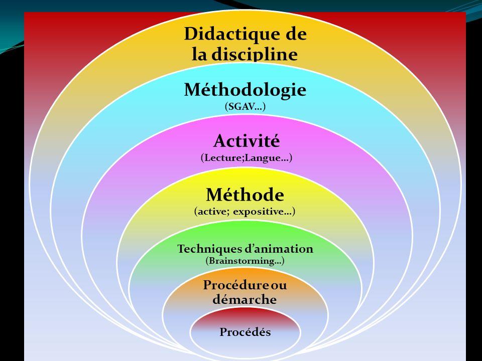 Didactique de la discipline
