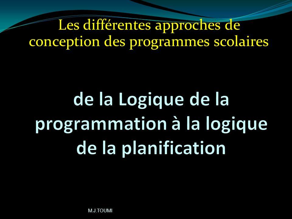 de la Logique de la programmation à la logique de la planification