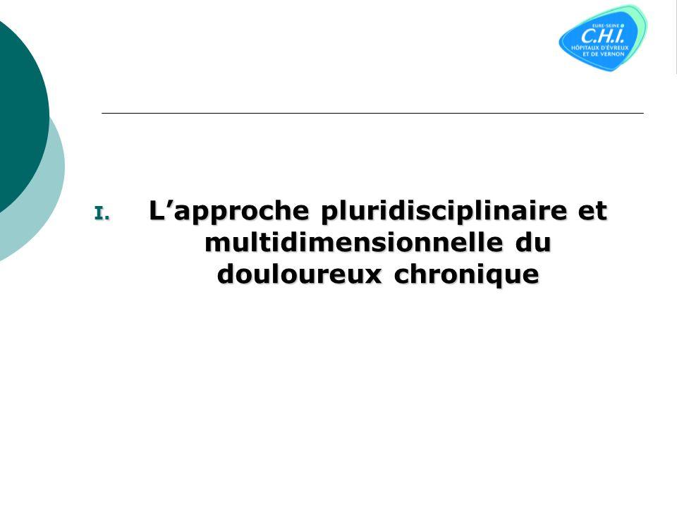 L'approche pluridisciplinaire et multidimensionnelle du douloureux chronique