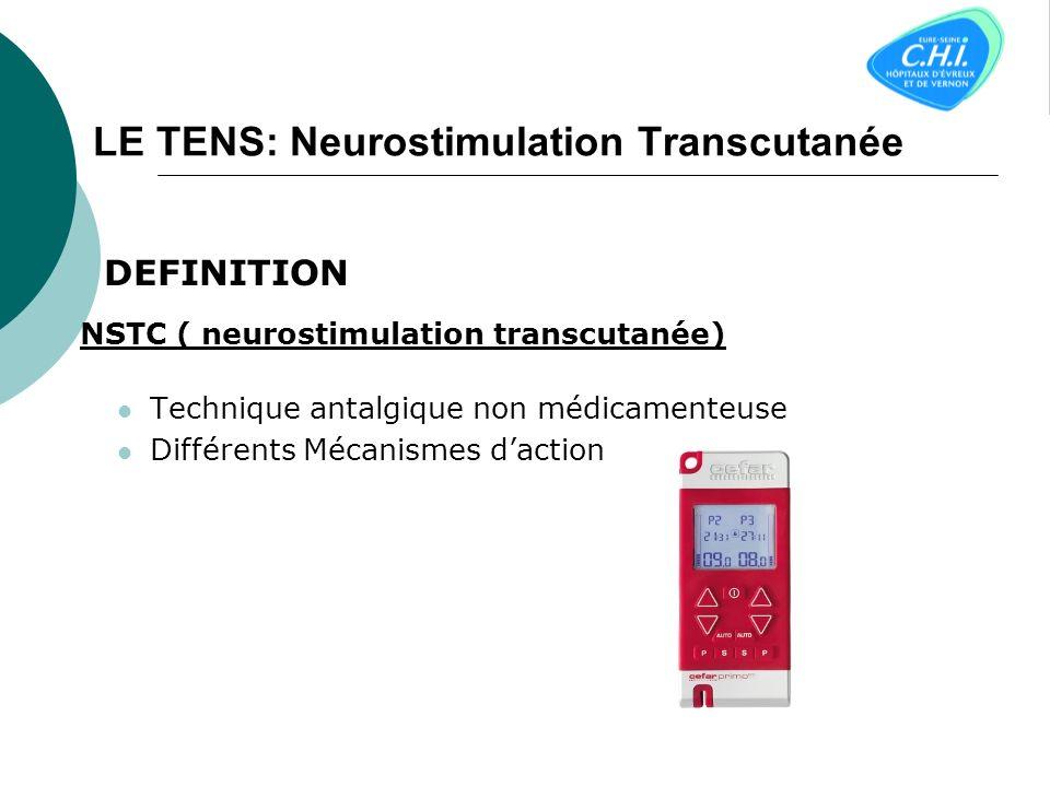 LE TENS: Neurostimulation Transcutanée