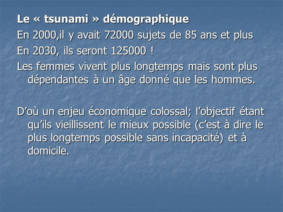 Le « tsunami » démographique