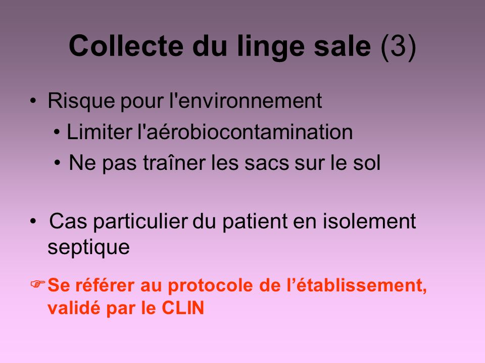 Collecte du linge sale (3)