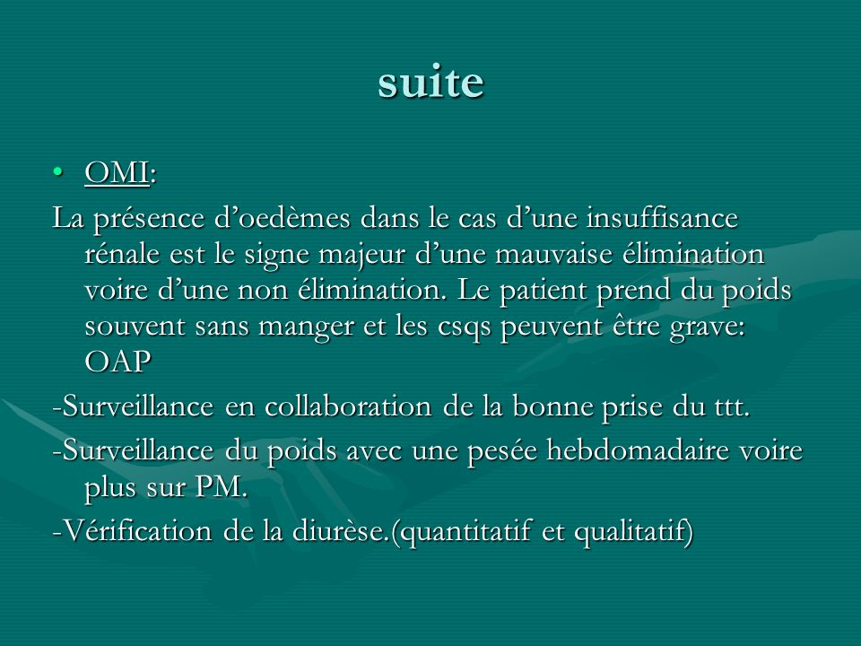 suite OMI: