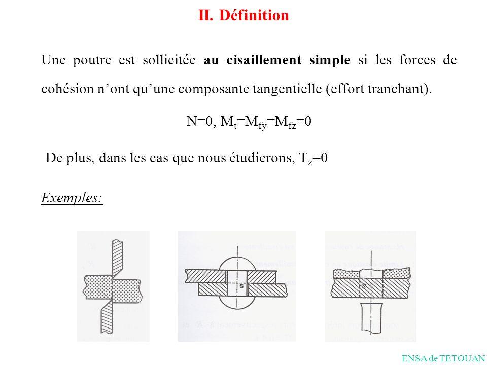 De plus, dans les cas que nous étudierons, Tz=0