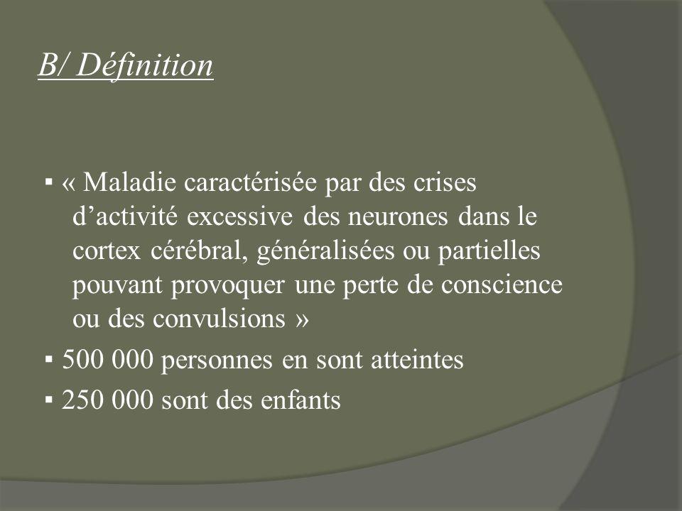 B/ Définition