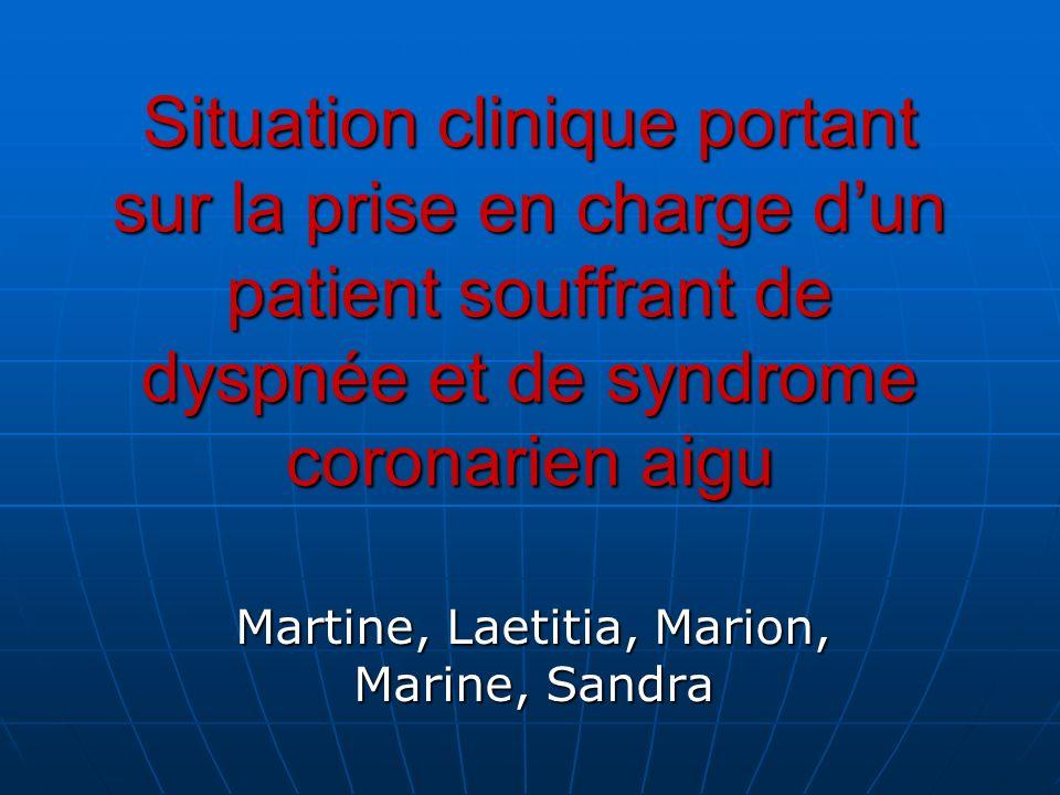Martine, Laetitia, Marion, Marine, Sandra