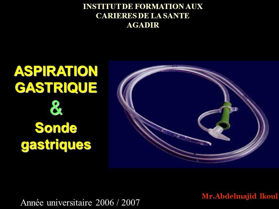 INSTITUT DE FORMATION AUX CARIERES DE LA SANTE AGADIR