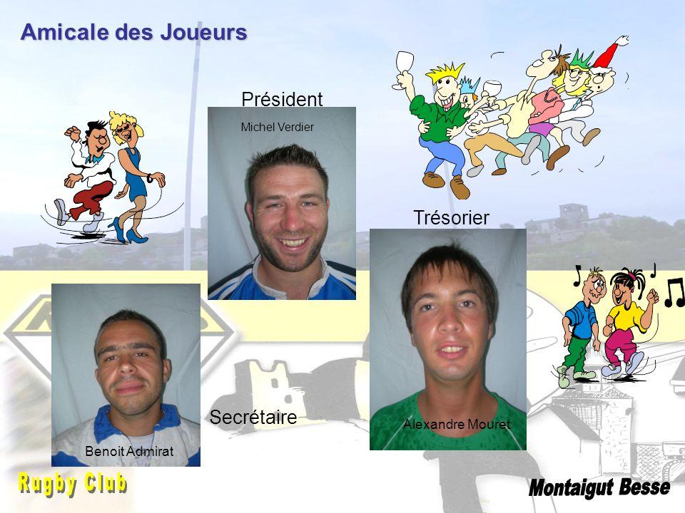 Amicale des Joueurs Président Trésorier Secrétaire Jonathan Rugby Club
