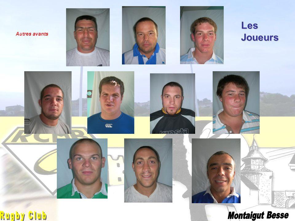 Les Joueurs Jonathan Rugby Club Montaigut Besse Autres avants