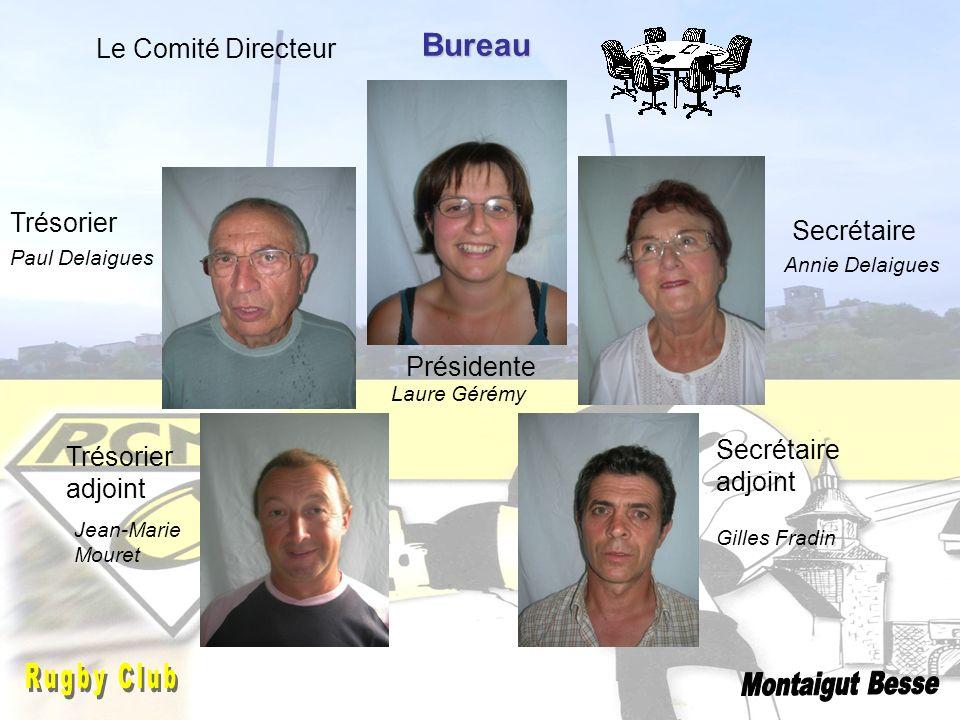 Bureau Le Comité Directeur Trésorier Secrétaire Présidente