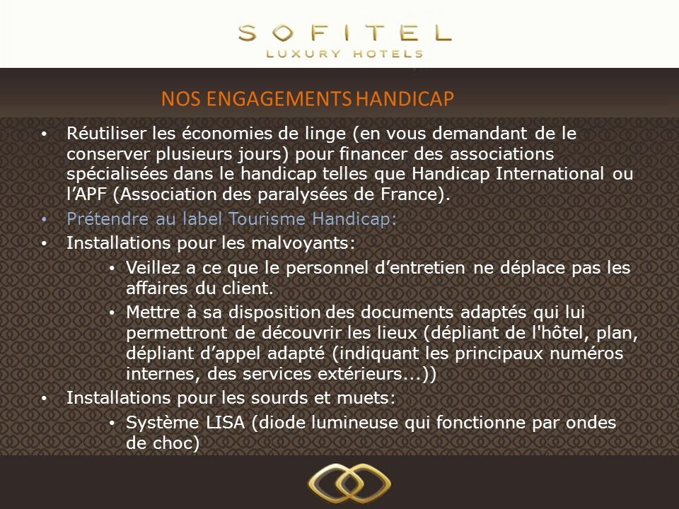 NOS ENGAGEMENTS HANDICAP
