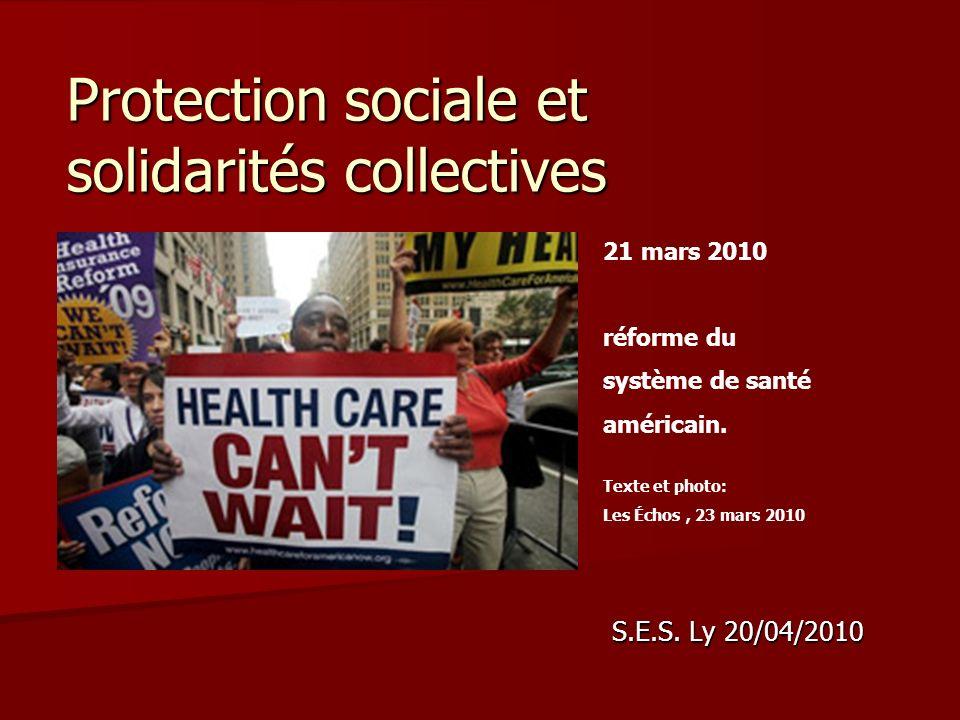 Protection sociale et solidarités collectives