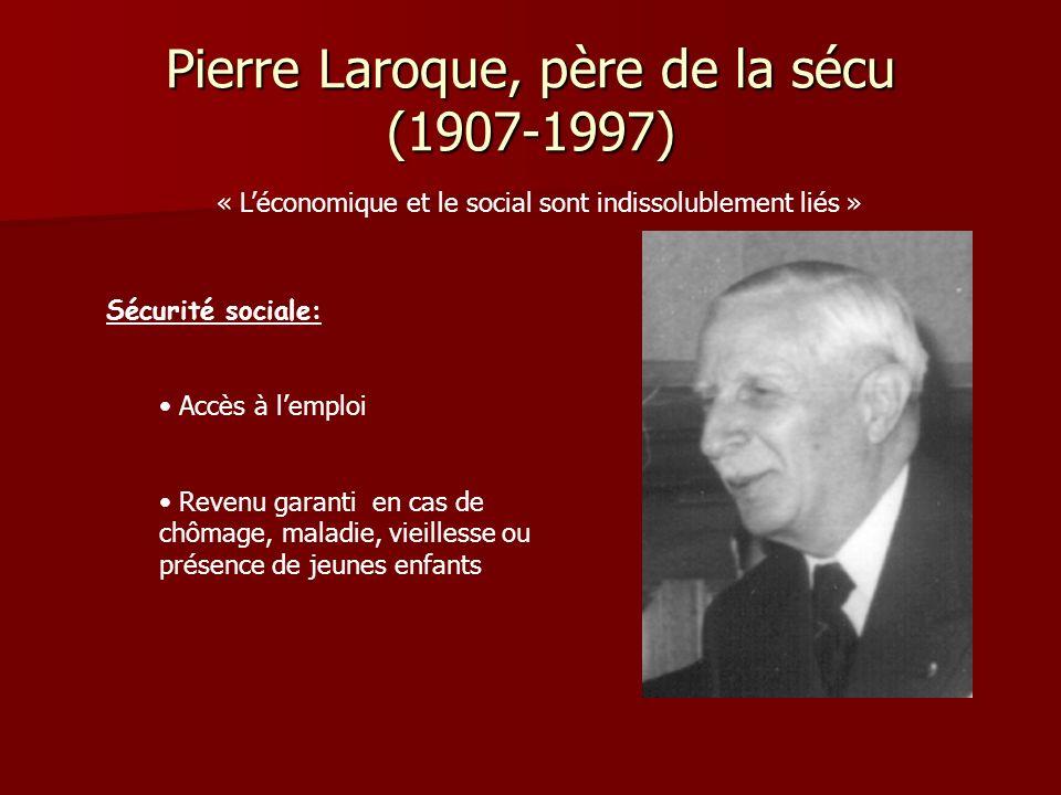 Pierre Laroque, père de la sécu (1907-1997)