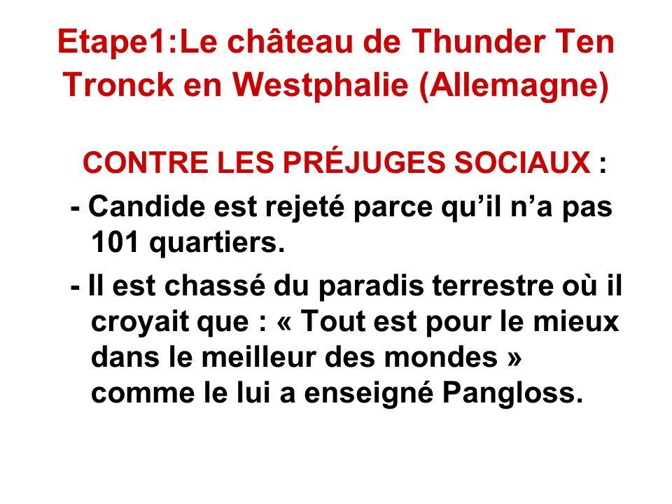 Etape1:Le château de Thunder Ten Tronck en Westphalie (Allemagne)