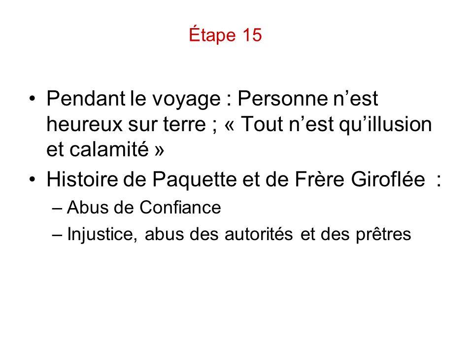 Histoire de Paquette et de Frère Giroflée :
