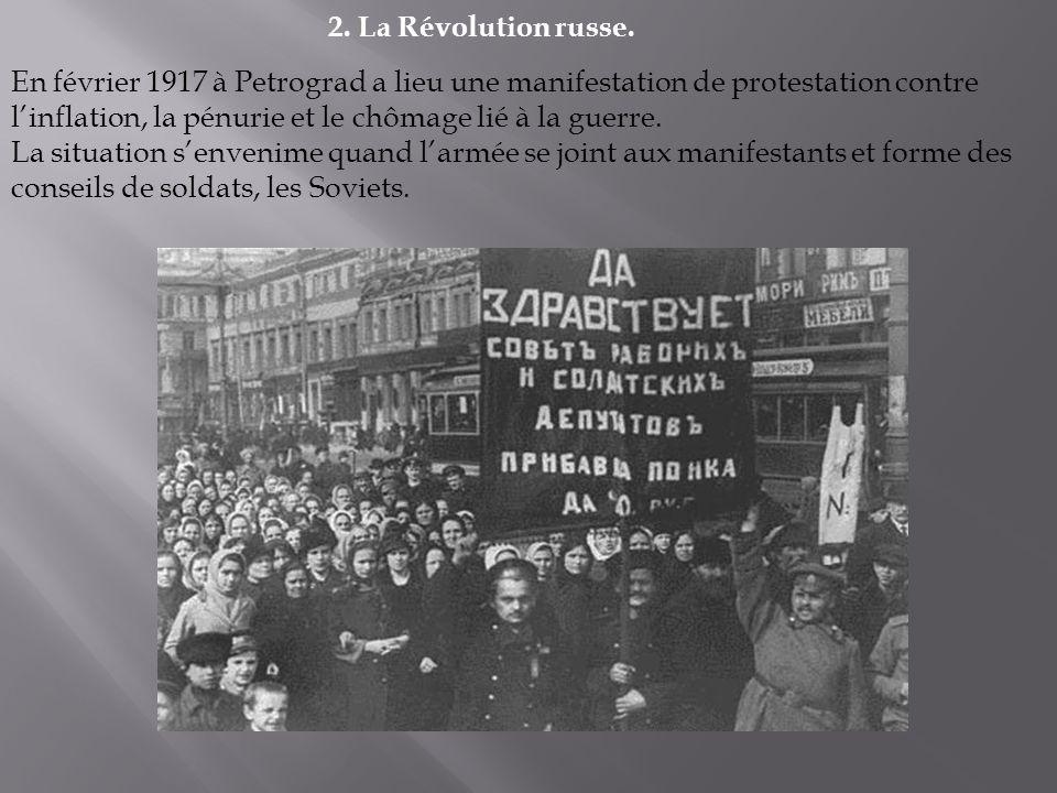2. La Révolution russe.