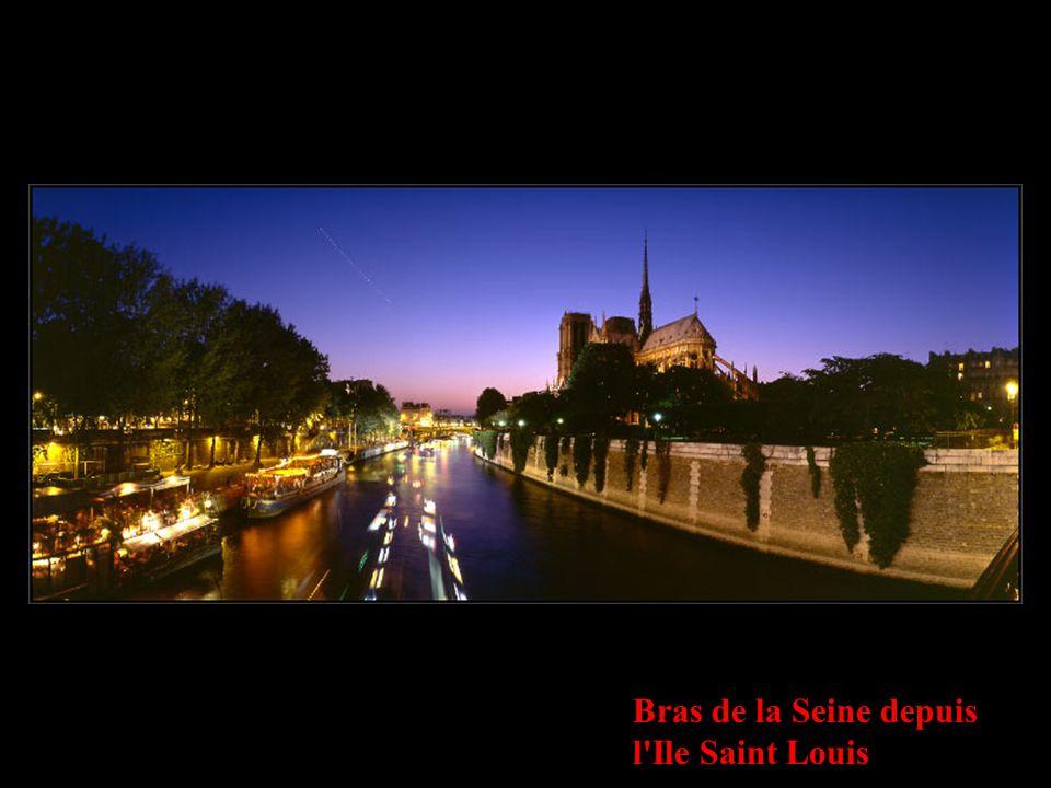 Bras de la Seine depuis l Ile Saint Louis