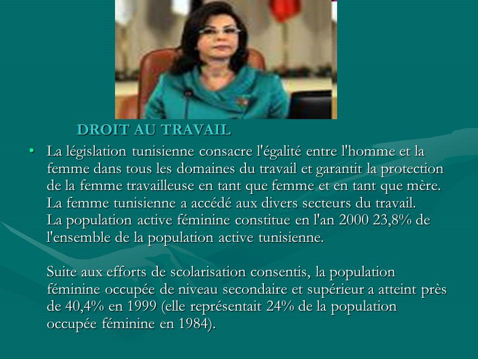 DROIT AU TRAVAIL