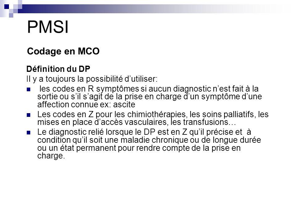 PMSI Codage en MCO Définition du DP